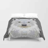 westie Duvet Covers featuring Westie by ArtLovePassion