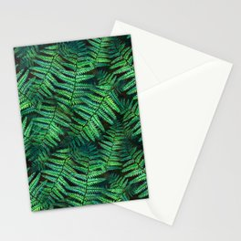 Among the Fern in the Forest Stationery Cards