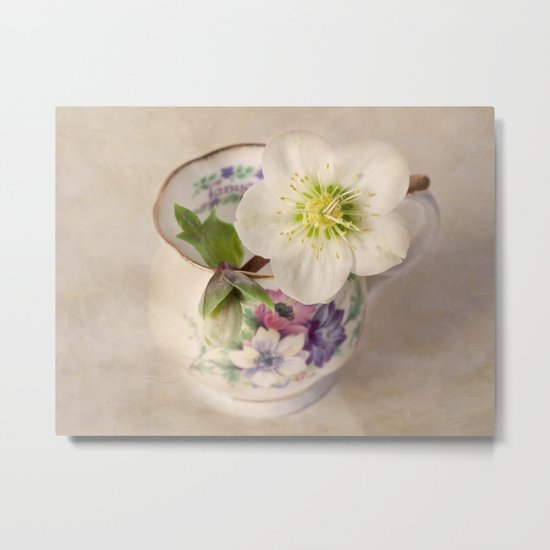 January Flower Metal Print