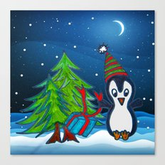 Christmas Gifts | Christmas Spirit | Kids Painting Canvas Print