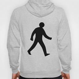 Walking Man Silhouette Hoody