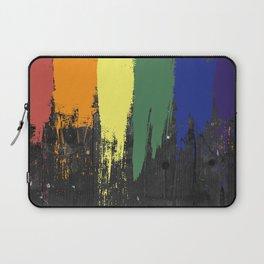 Rainbow Paint Laptop Sleeve