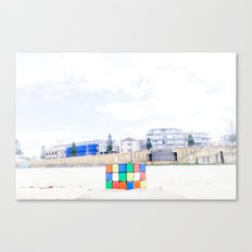 The Cube at Maroubra Beach Canvas Print