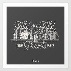 Little By Little Art Print