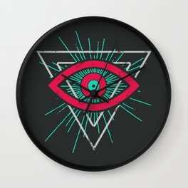 Illuminati (alt color) Wall Clock