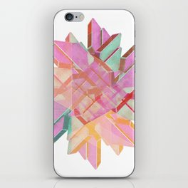 Technical Snowflake iPhone Skin