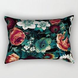 Midnight Garden VIII Rectangular Pillow
