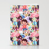 steven universe Stationery Cards featuring Steven Universe by Velvetcat09