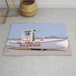 Wildwood Beach Patrol Rug