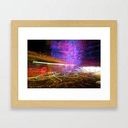 Night Light 125 Framed Art Print
