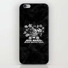 Mad Mario: Beyond Another Castle iPhone & iPod Skin