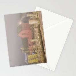 Foggy Motif #1 at night Stationery Cards