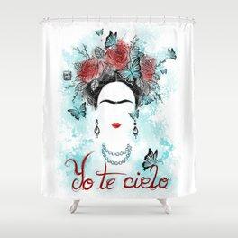 Yo te cielo Shower Curtain