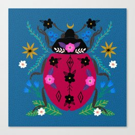 Ladybug wonder Canvas Print