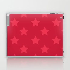 Red stars Laptop & iPad Skin