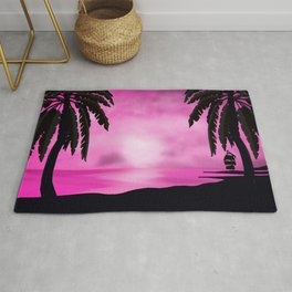 Romantic Sunset Rug