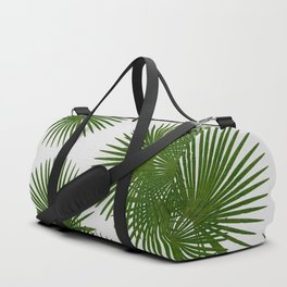 Fan Palm, Tropical Decor Duffle Bag