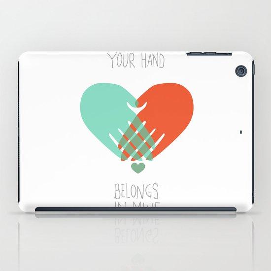 I wanna hold your hand iPad Case