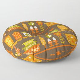 Lets Cook at Home Tonight Floor Pillow