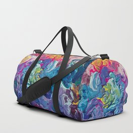 Aurora Swirls Duffle Bag