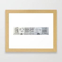 Knysna Kitchen Framed Art Print