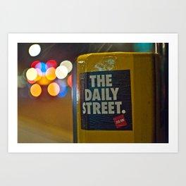 The Daily Bokeh Art Print