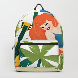 Aloha From Sunny Hawaii Wish You Were Here Backpack