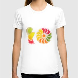 Plenty multicolored chewy gumdrops T-shirt