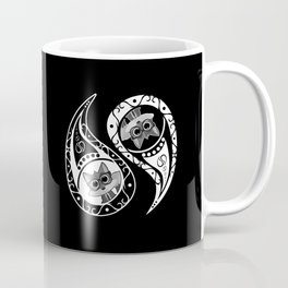Ying Yang - Fox Nerd Coffee Mug
