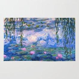 Water Lilies Monet Rug