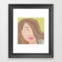 Determined Framed Art Print