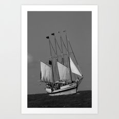The Battle of Lake Erie Art Print