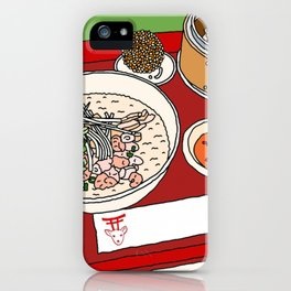 Happy Dim Sum Platter iPhone Case