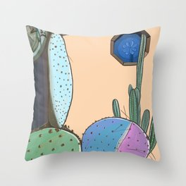 Cactus Lover Throw Pillow