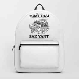 Hanuman Sak Yant Muay Thai Backpack