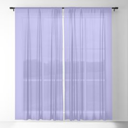 Powder Lavender Sheer Curtain