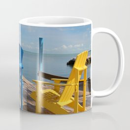 Beach Chairs Coffee Mug