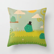 LILLL Monsters Throw Pillow