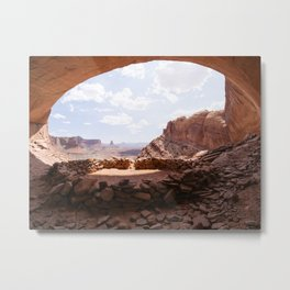 False Kiva, Utah Metal Print