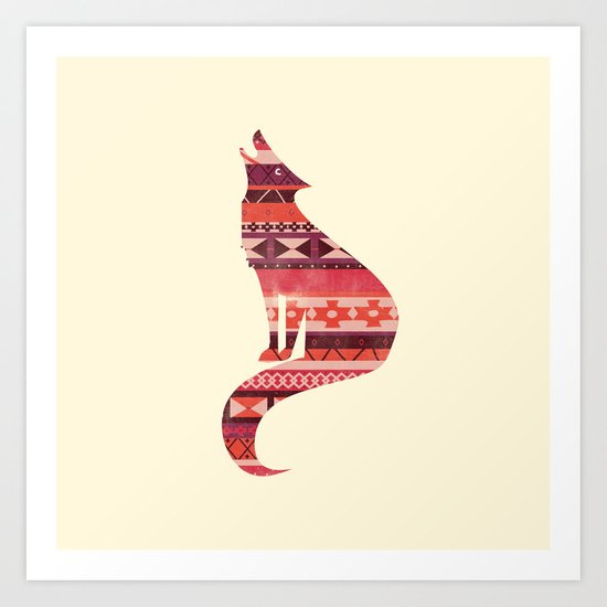 Native Song Art Print