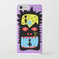 pixies iPhone & iPod Cases featuring Everyday I wisthle thanks to the wisthle pixies by Dom Barra