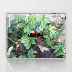 Butterfly Red Laptop & iPad Skin