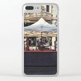 Street vendor Clear iPhone Case