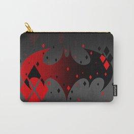 Bat Logo Harlequinn Carry-All Pouch