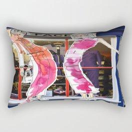 Long, Thin and Beautiful. Rectangular Pillow