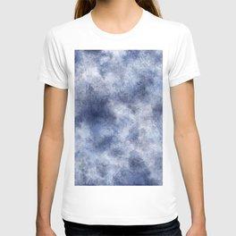 Navy Watercolor Fog T-shirt