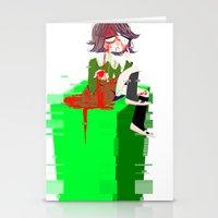 chihiro Stationery Cards featuring Chihiro Fujisaki by hellokittyloli