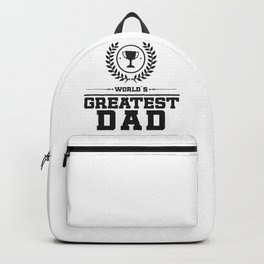 World`s Greatest DAD Backpack