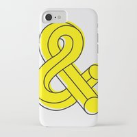 ampersand iPhone & iPod Cases featuring Ampersand by MADEYOUL__K