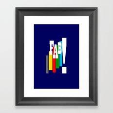 Thunderbirds Are Go Framed Art Print